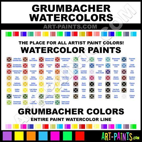 grumbacher paint color chart grumbacher watercolor paint brands grumbacher paint