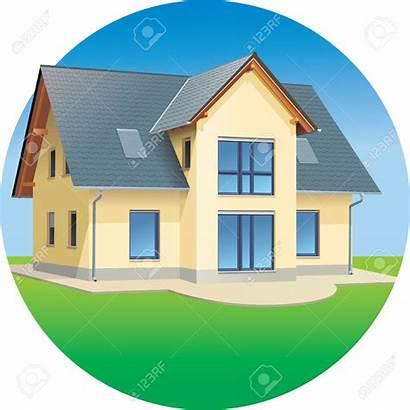 Clipart Houses Building Clip Estate Colonial Estates