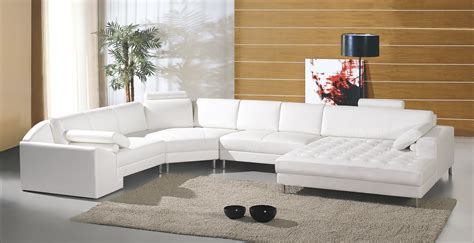 canape d angle blanc cuir deco in canape panoramique cuir blanc houston can