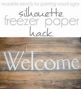 reusable stencils for painting wood signs silhouette With stencil letters for wood signs