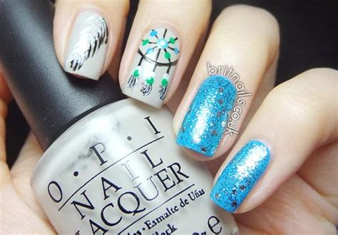 inspirational nail art inspired  native american