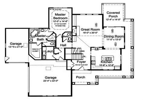 Craftsman Style House Plan 4 Beds 2 5 Baths 2274 Sq/Ft