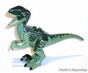 Lego Jurassic World Dinosaur BLUE the RAPTOR, from set ...