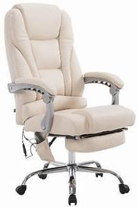 Bürostuhl Mit Liegefunktion : massagesessel als leder chefsessel pace mit liegefunktion ~ Watch28wear.com Haus und Dekorationen