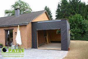 ossature bois annexe a malmedy With cout annexe construction maison