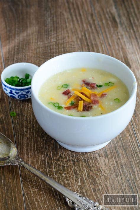 light potato soup light potato cheese soup a healthy for me