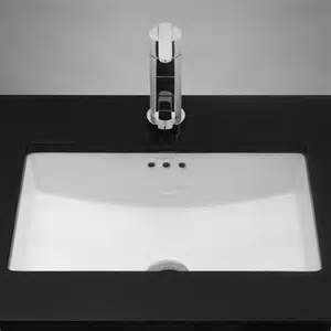 ronbow 200521 wh rectangle ceramic undermount bathroom sink with overflow in white homeclick