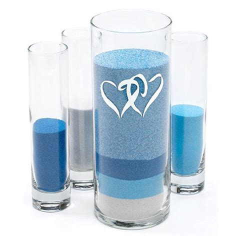 pouring vases for sand ceremony sand pouring kit vases only the knot shop