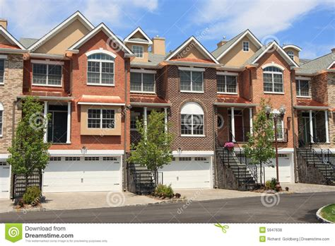 Town House : Town Houses Royalty Free Stock Photos-image