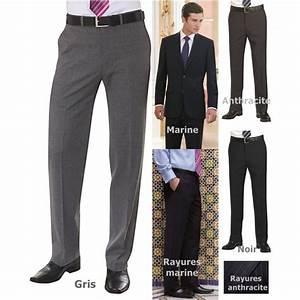 Pantalon A Pince Homme : pantalon homme sans plis chic et raffin ~ Melissatoandfro.com Idées de Décoration