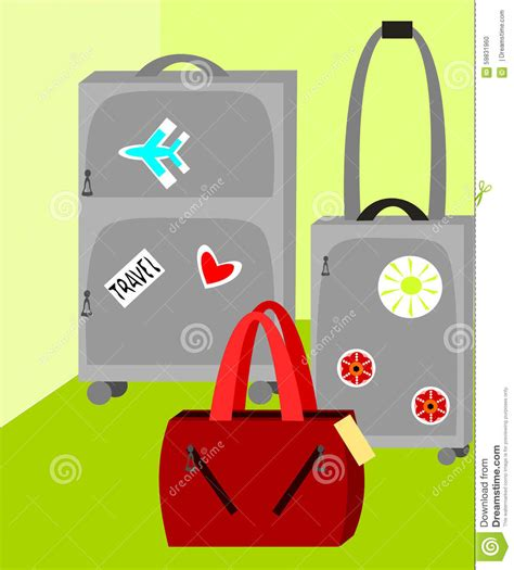 ready to go vector illustration cartoondealer com 59831960