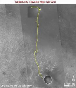 News | NASA Rover Nears Martian Bowl Goal