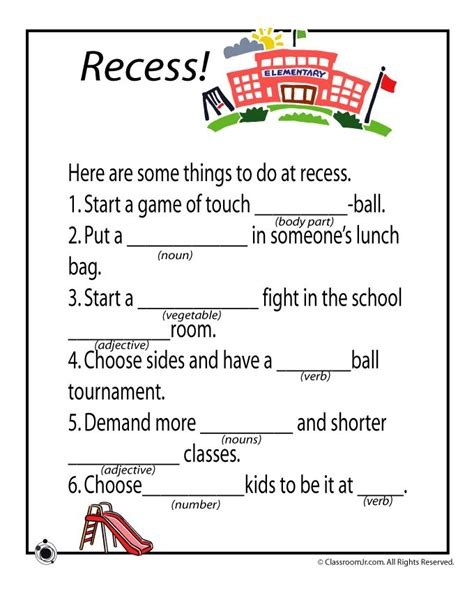 67 Best Images About Mad Libs For Ms Smith On Pinterest  Student, Activities And Mad Libs