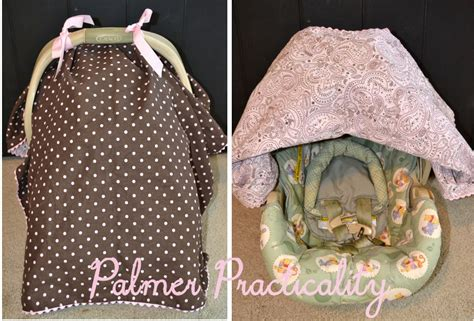 Homemade Baby Car Seat Cover
