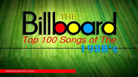 The Billboard Top 100 Songs Of The 1980's