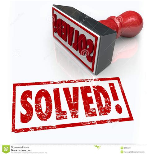 Solved Stamp Solution To Problem Challenge Overcome Stock