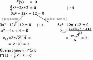 Nullstellen Berechnen X 2 : funktionsanalyse funktionsuntersuchung kurvendiskussion nullstellen extrema mathe ~ Themetempest.com Abrechnung