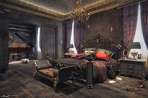 Unleash Your Gothic Personality in Your Bedroom with These