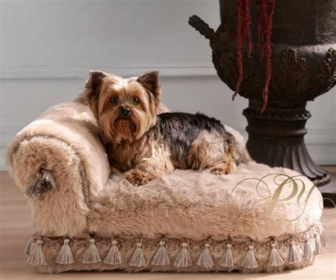 Exotic Polar Ice Chaise Lounge Dog Bed