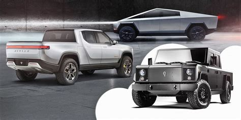 electric pickup truck    horizon