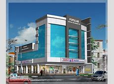 Commercial Building Elevation In Kerala wwwpixsharkcom