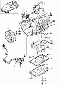 Gearbox Oil Sump Gasket  U0026 Filter Kit  Porsche 958 Cayenne