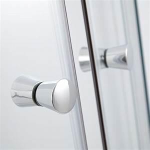 cabine de douche acces d39angle 80x100x195cm hutton eur435 With porte d entrée alu avec cimentage hydrofuge salle de bain