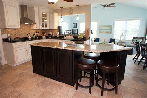 Kitchen Cabinet Island - new kitchen in newport news virginia has custom cabinets kitchen island granite countertops