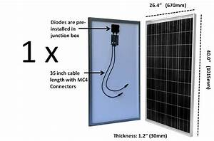 What Size Solar Panel To Charge 12 Volt Battery Solar