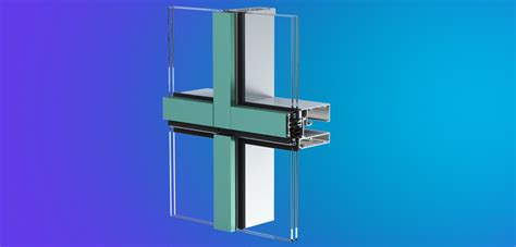 horner the sinking mp3 100 unitized curtain wall glazing panel curtain