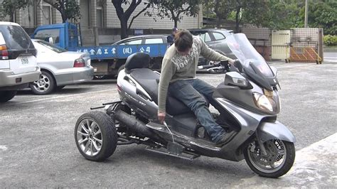 Burgman 650 Trike Reverse Shift System Testing