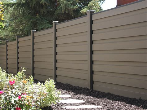 trex horizons horizontal privacy fence fence deck supply