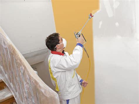 revger conseil pour peindre un plafond au pistolet