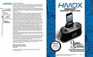 Hmdx Clock Radio With Ipod Dock Manual
