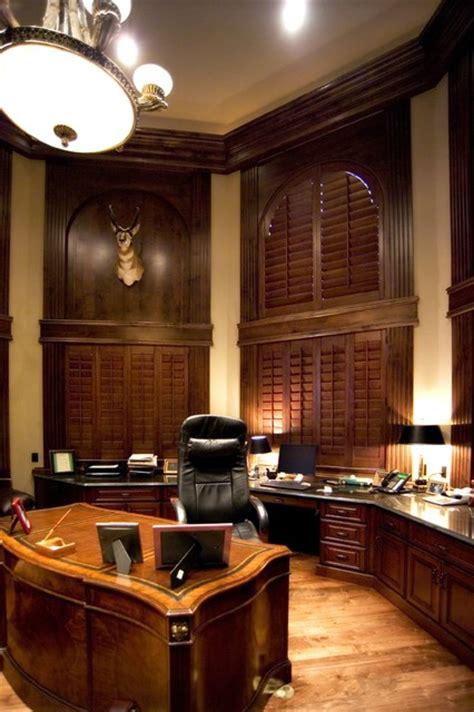 Luxury Custom Home Office By Timber Ridge Properties