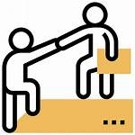 Partner Icon Accountability Responsibility Assistance Support Icons