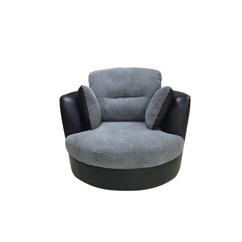 Swivel Snuggle Chair by Venice Swivel Cuddle Chair