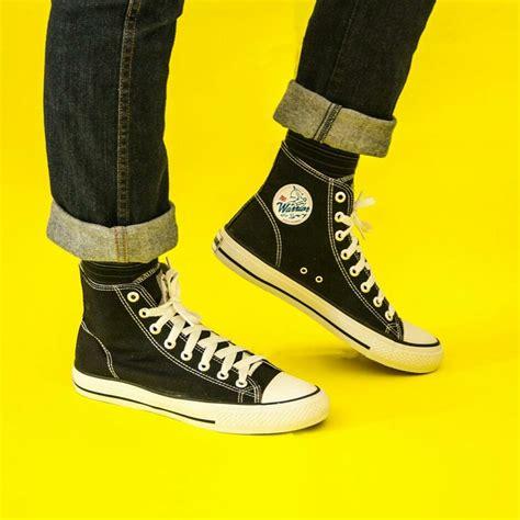 Sepatu Merk Warriors jual sepatu warrior pro black white di lapak sepatu