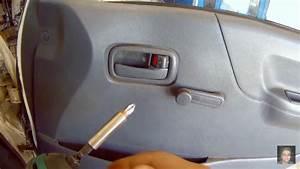 Toyota Hiace Door Panel Removal