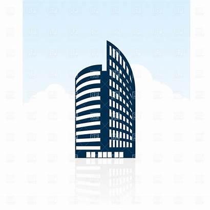 Building Clipart Vector Clip Architecture Silhouette Modern