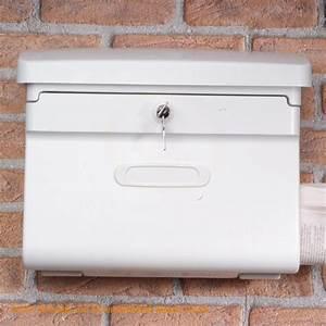 Burg Wächter Briefkasten Weiß : burg w chter briefkasten bremen 885 w wei mit integriertem zeitungsfach ebay ~ Orissabook.com Haus und Dekorationen