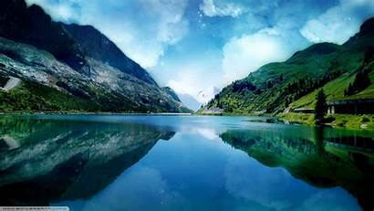 Nature Landscape Lake Fjord Wallpapers 5k Natural