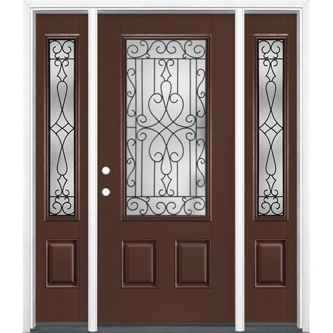 masonite wyngate  lite decorative glass  hand