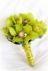 Bouquet Bridal: Green Orchids Wedding Bouquets