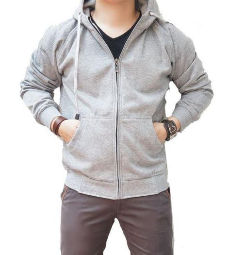 Legging Gw Polos Abu jual promo jaket polos abu abu muda hoodie zipper obral