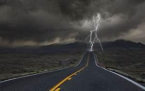 Lightning Full HD Wallpaper, Picture, Image