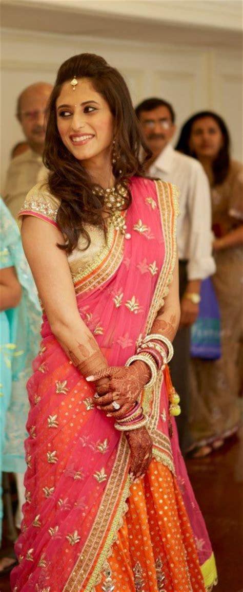 hairstyles   saree  women  handmade crafts