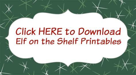 elf   shelf printables hoosier homemade