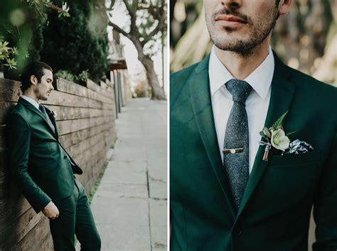 groom style inspiration  gold coast goods green