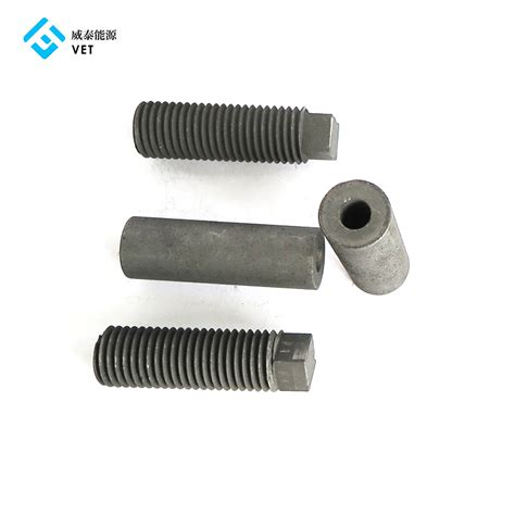 china  wholesale pricecarbon felt electrode graphite nuts vet energy factory